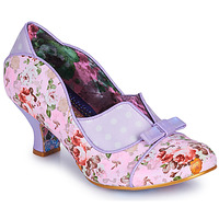 Shoes Women Heels Irregular Choice HOLD UP Purple