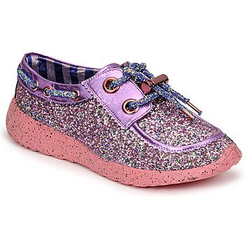 Shoes Women Low top trainers Irregular Choice SKYLAR Purple