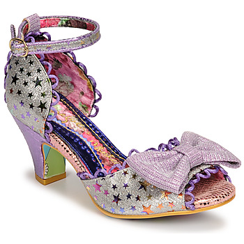 Shoes Women Sandals Irregular Choice SITTING PRETTY Purple