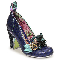 Shoes Women Heels Irregular Choice BUNNY BOO Blue