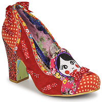 Shoes Women Heels Irregular Choice MATRYOSHKA MEMORIES Red