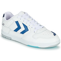 Shoes Men Low top trainers Hummel POWER PLAY White / Blue