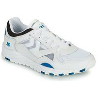 Shoes Men Low top trainers Hummel EDMONTON 3S LEATHER Blue