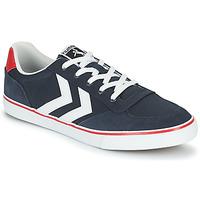 Shoes Men Low top trainers Hummel STADIL LOW OGC 3.0 Blue
