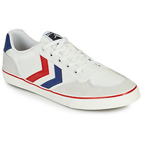 Shoes Men Low top trainers Hummel STADIL LOW OGC 3.0 White / Blue / Red