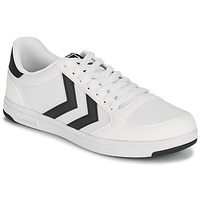 Shoes Men Low top trainers Hummel STADIL LIGHT CANVAS White