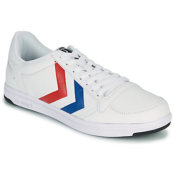 Shoes Men Low top trainers Hummel STADIL LIGHT White / Blue / Red
