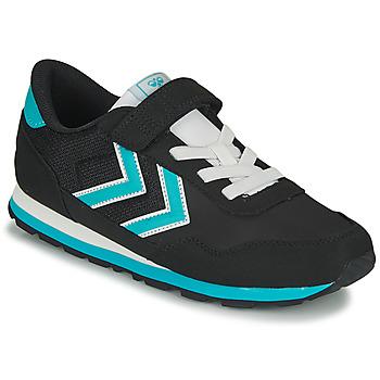Shoes Children Low top trainers Hummel REFLEX JR Black