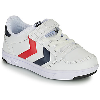 Shoes Children Low top trainers Hummel STADIL LIGHT QUICK JR White