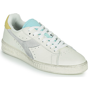 Shoes Women Low top trainers Diadora GAME L LOW ICONA WN White / Blue