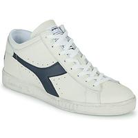 Shoes Hi top trainers Diadora GAME L WAXED ROW CUT White