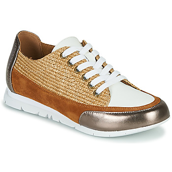 Shoes Women Low top trainers Karston CAMINO Brown / Bronze