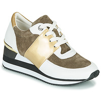 Shoes Women Low top trainers Karston SILMON White / Gold