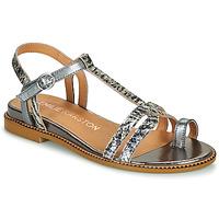 Shoes Women Sandals Karston SOREN Silver