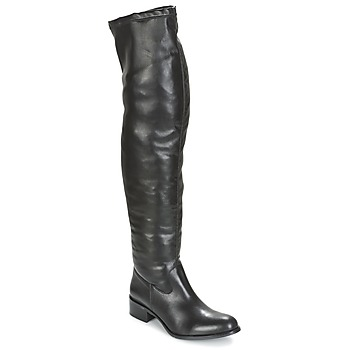 Shoes Women Thigh boots Betty London NORMANDIA Black