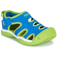 Shoes Boy Outdoor sandals Keen STINGRAY Blue / Green