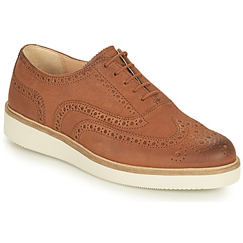 Shoes Women Derby Shoes Clarks BAILLE BROGUE Camel