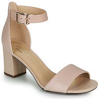 Shoes Women Heels Clarks DEVA MAE Pink