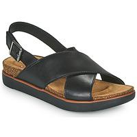 Shoes Women Sandals Clarks ELAYNE CROSS Black