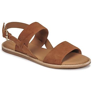 Shoes Women Sandals Clarks KARSEA STRAP Camel