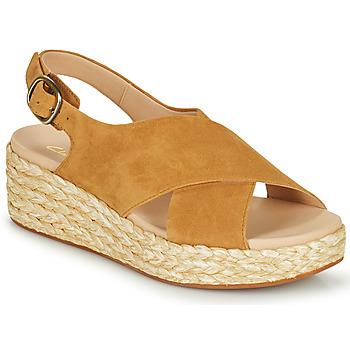Shoes Women Sandals Clarks KIMMEI CROSS Brown