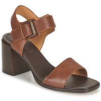 Shoes Women Sandals Clarks LANDRA70 STRAP Brown