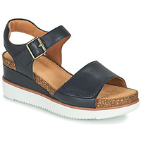 Shoes Women Sandals Clarks LIZBY STRAP Blue