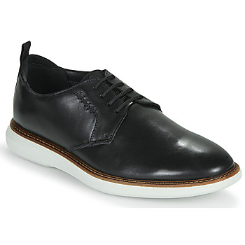 Shoes Men Derby Shoes Clarks BRANTIN LOW Black