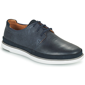 Shoes Men Derby Shoes Clarks BRATTON LACE Blue
