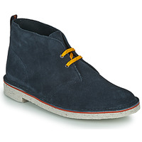 Shoes Men Mid boots Clarks BUSHACRE 3 Blue