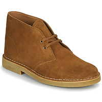 Shoes Men Mid boots Clarks DESERT BOOT 2 Brown