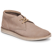 Shoes Men Mid boots Clarks FORGE STRIDE Grey