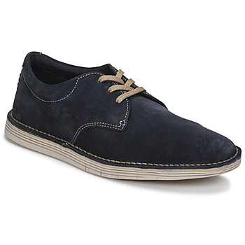 Shoes Men Derby Shoes Clarks FORGE VIBE Blue