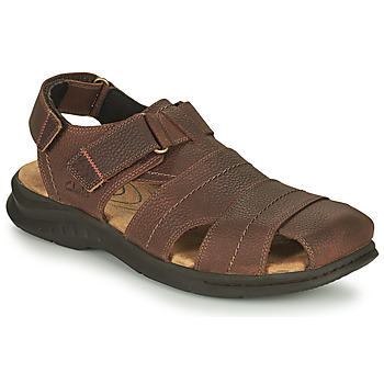 Shoes Men Outdoor sandals Clarks HAPSFORD COVE Brown