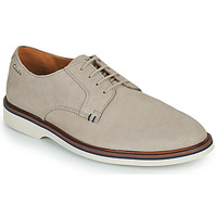 Shoes Men Derby Shoes Clarks MALWOOD PLAIN Grey