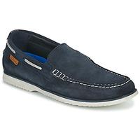 Shoes Men Boat shoes Clarks NOONAN STEP Blue