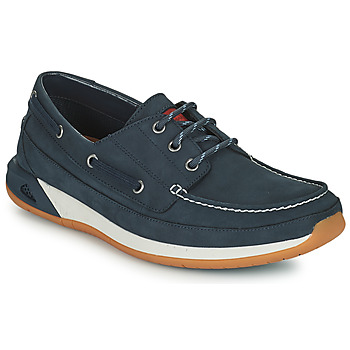 Shoes Men Boat shoes Clarks ORMAND BOAT Blue