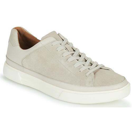 Shoes Men Low top trainers Clarks UN COSTA TIE White
