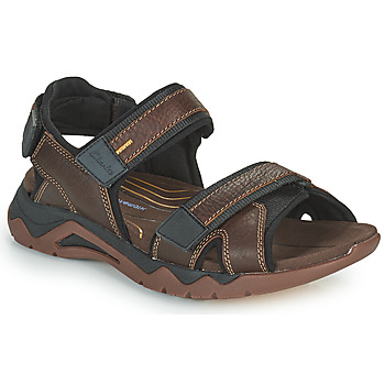 Shoes Men Outdoor sandals Clarks WAVE2.0 JAUNT Brown