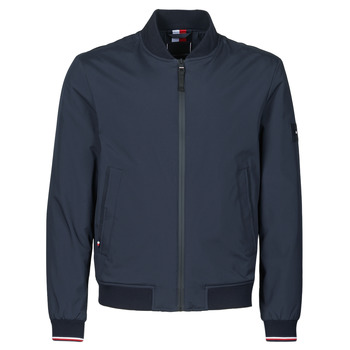Clothing Men Jackets Tommy Hilfiger SOFTSHELL BOMBER Marine