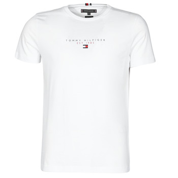 Clothing Men Short-sleeved t-shirts Tommy Hilfiger ESSENTIAL TOMMY TEE White