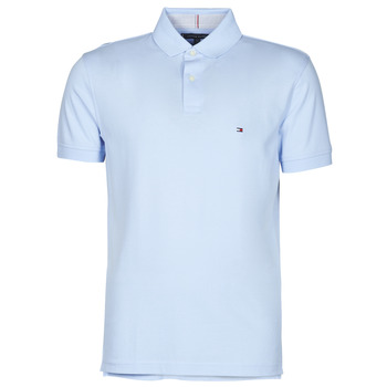 Clothing Men Short-sleeved polo shirts Tommy Hilfiger 1986 REGULAR POLO Blue / Sky