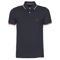 Clothing Men Short-sleeved polo shirts Tommy Hilfiger TOMMY TIPPED SLIM POLO Marine