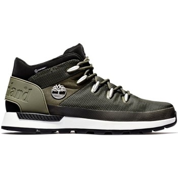 Shoes Men Mid boots Timberland Sprint Trekker Mid WP Black, Grey, Olive