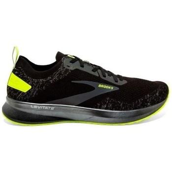 Shoes Men Low top trainers Brooks Levitate 4 Black