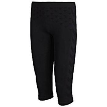 Clothing Women Tracksuits Hummel Collant 3/4 femme  Active Bee noir