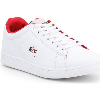 Shoes Men Low top trainers Lacoste Carnaby Evo White