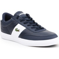 Shoes Men Low top trainers Lacoste Courtmaster Navy blue