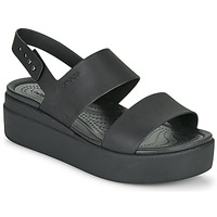 Shoes Women Sandals Crocs CROCS BROOKLYN LOW WEDGE W Black