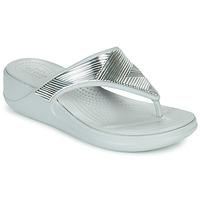 Shoes Women Flip flops Crocs CROCS MONTEREY METALLIC WGFPW Silver
